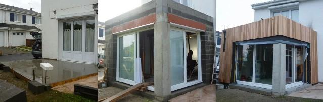 Extension maison beton btiment su0027aura adapt votre for Extension parpaing